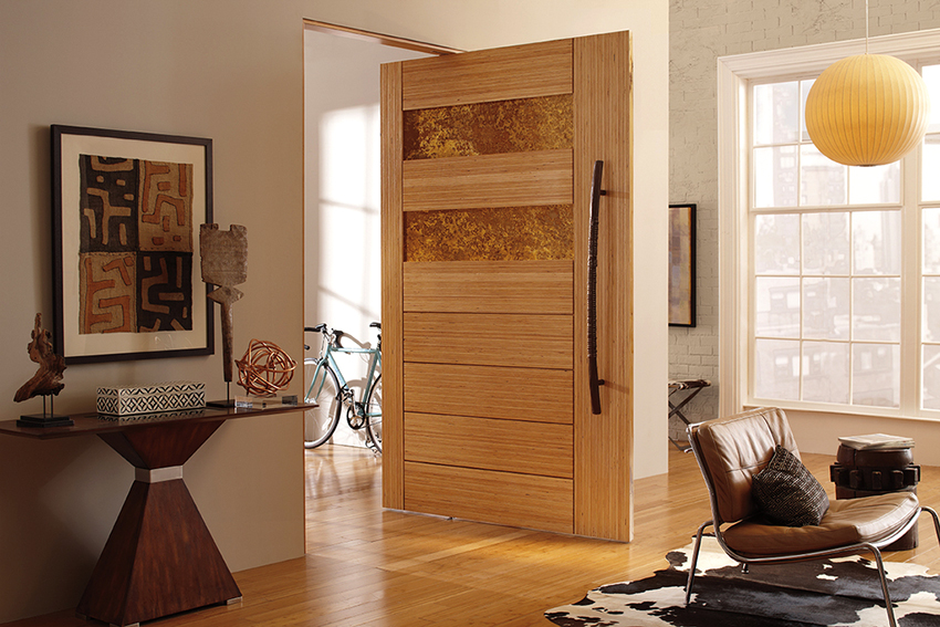 Качающиеся межкомнатные двери открываются в разные стороны