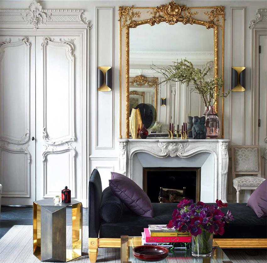 Двери светлых оттенков идеально подойдут для интерьера в классическом стиле