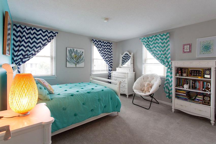 Разновидность кровати подбирается с учетом размера и стиля помещения