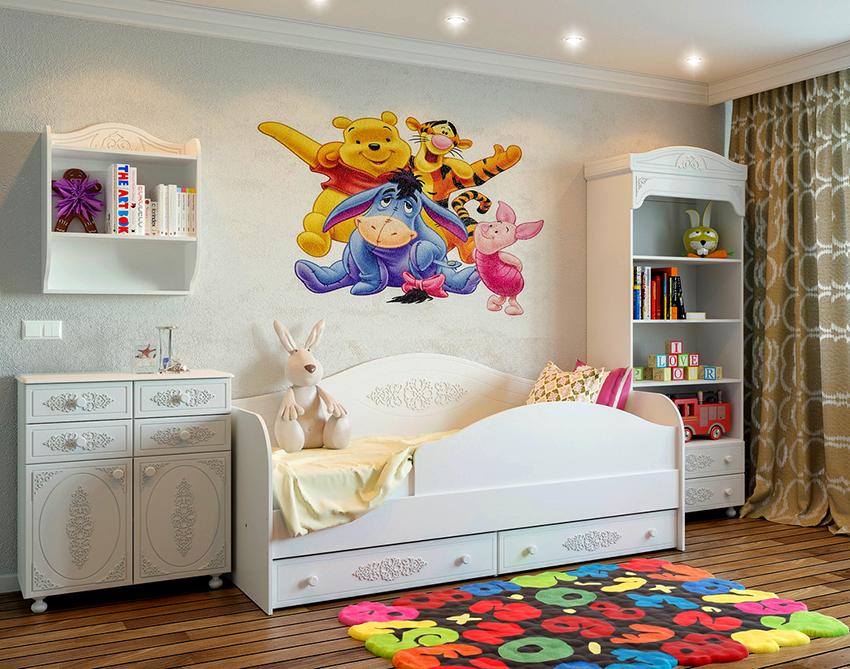 Кровати с дополнительными ящиками внизу – удобные и экономят место