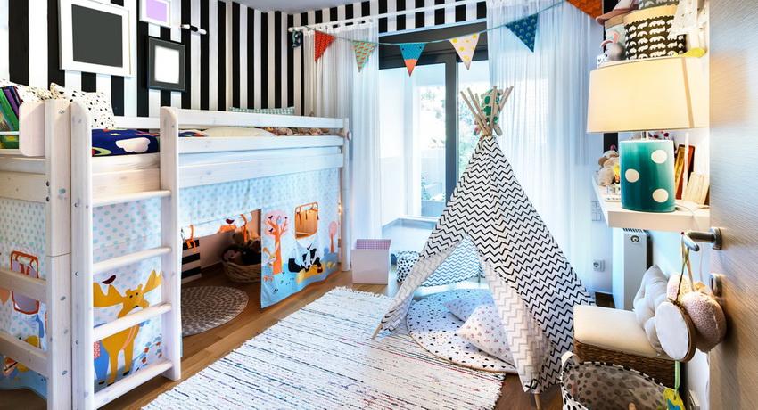 Кровать двухъярусная детская: идеи создания уютного уголка для детей