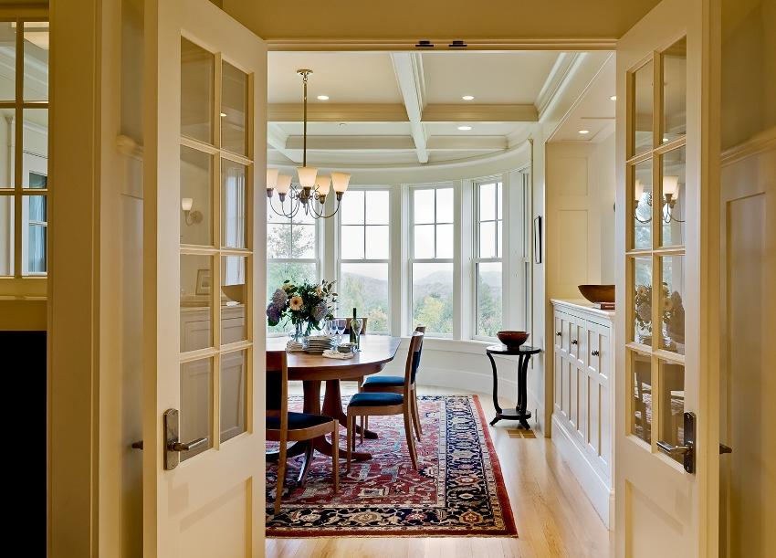 Лиминированные двери покрываются специальной защитной пленкой, пропитанной экологически чистыми смолами
