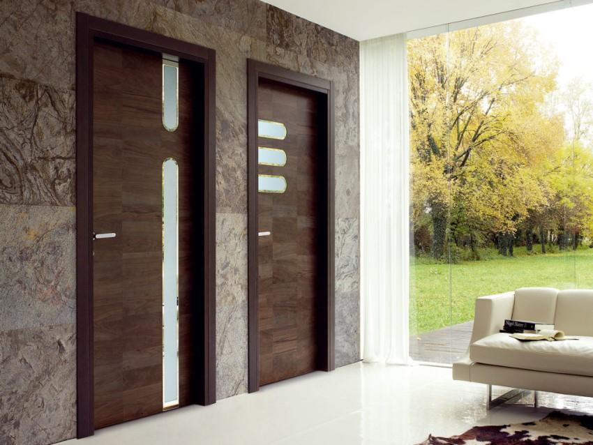 Межкомнатные дверные конструкции обязательно должны сочетаться со стенами помещения