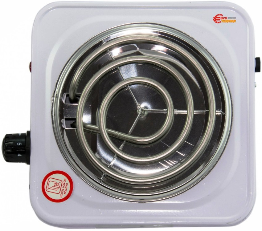 Электрическая плита может быть со спиральными конфорками открытого типа