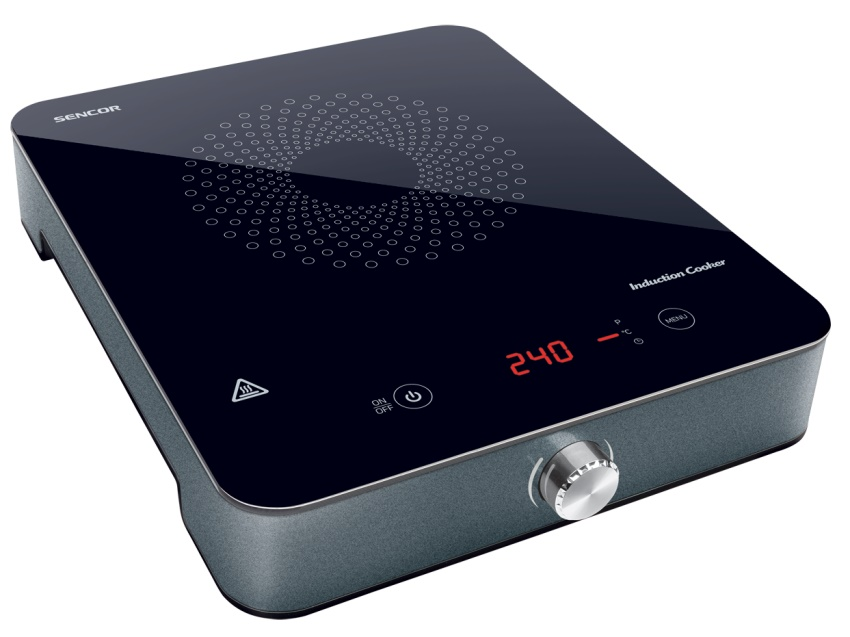 Все настольные модели индукционных плит оснащены сенсорным дисплеем