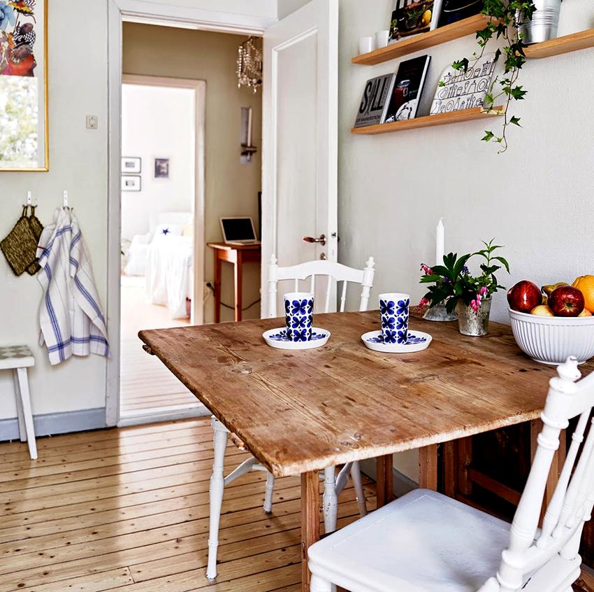 Главные факторы, на которые нужно обращать внимание при покупке стола для кухни – это площадь и интерьер помещения