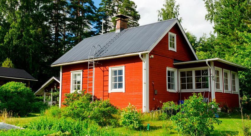 Финский каркасный дом - не редкость, ввиду своей доступной стоимости и удобства в использовании