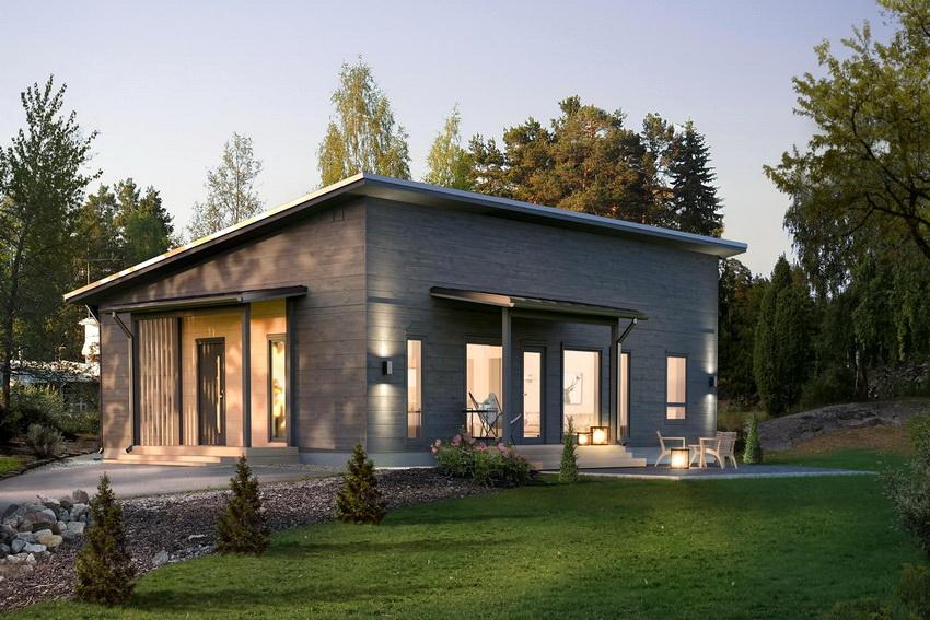 Дизайн современных финских домов отличается лаконичностью и минимализмом