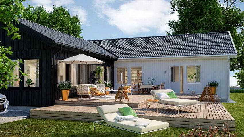 Одно из преимуществ финских домов в сравнении с классическими деревянными — скорость возведения