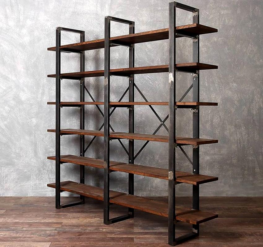 Квадратный и овальный профиль широко применяется в производстве мебели