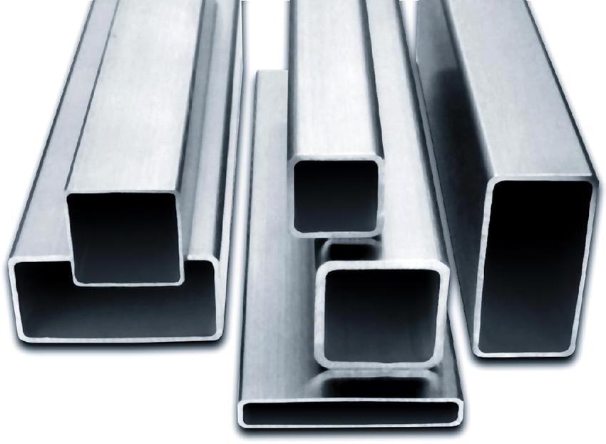 Прямоугольные профильные трубы имеют стандартное сечение в пределах от 15х10 до 180х150 мм