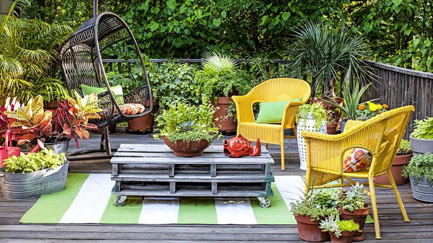 Мебель от компании RAMMUS характеризуется устойчивостью к перепадам температур