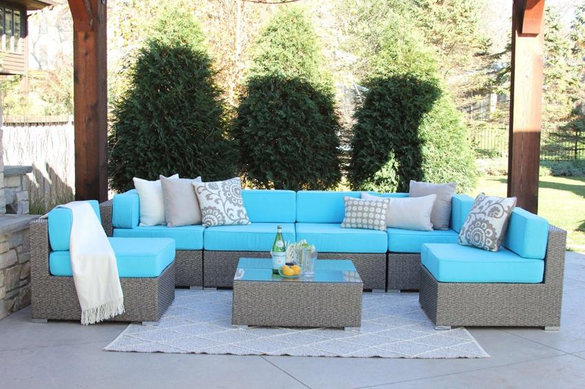 Основными отечественными производителями садовой мебели из искусственного ротанга являются компании MEBIUS и RAMMUS