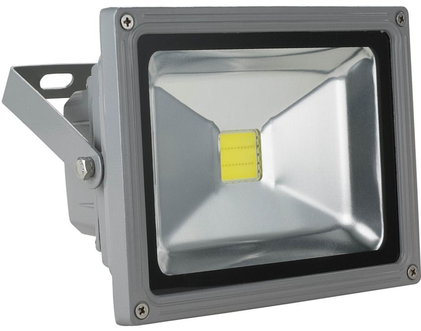 LED прожектора потребляет минимальное количество электроэнергии