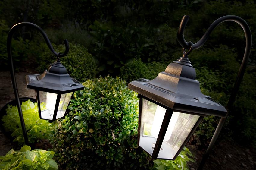 Светодиодные фонари способны рассеивать потоки света равномерно