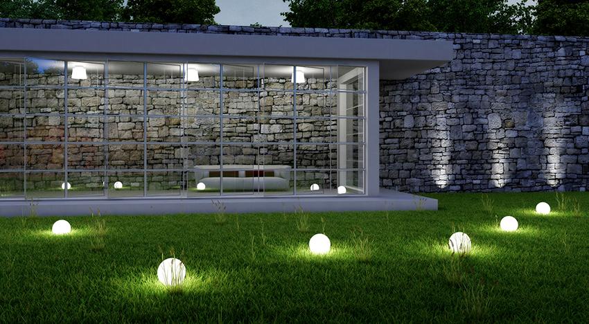 LED-светильники бывают подвесные, настенные, встраиваемые, потолочные и размещенные на столбах