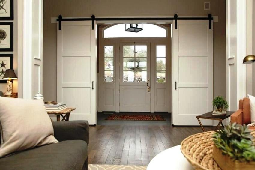 Межкомнатные двери классифицируют в зависимости от материала их изготовления