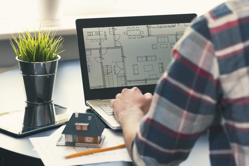 С помощью компьютерных программ можно легко спроектировать дом самостоятельно