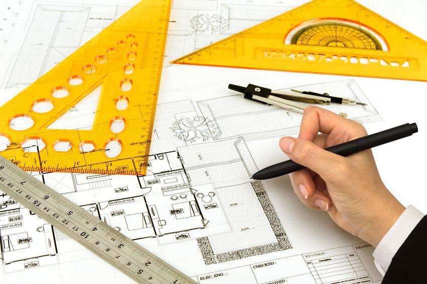 При составление эскизного проекта дома нужно учитывать все пожелания будущих жильцов