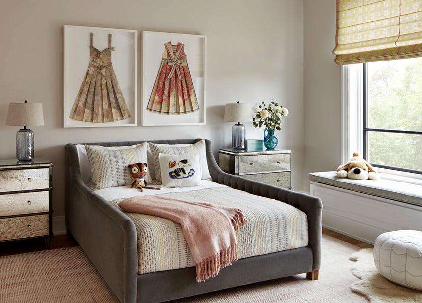 Кровать должна быть сделана из качественных, натуральных и надежных материалов