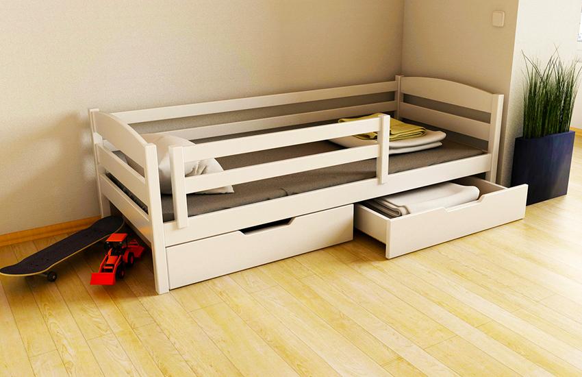 Если бюджет ограничен, для изготовления кровати можно использовать МДФ или ДСП