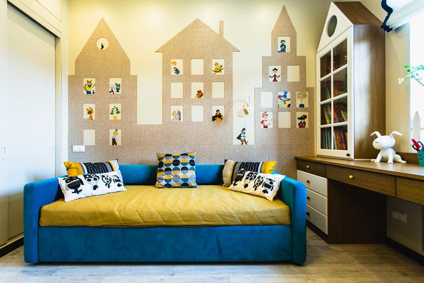 Самой популярной и удобной моделью диванов является «еврокнижка»