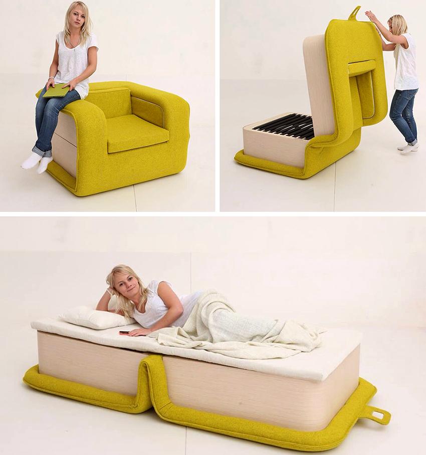 Лучше отдать предпочтение конструкции, оснащенной ортопедическим спальным местом
