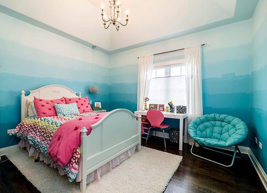 Средние размеры полуторных детских кроватей достигают 120-150 см в ширину