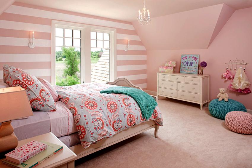 Детская кровать должна идеально вписываться в интерьер спальни