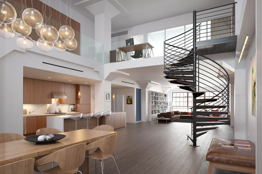 Интерьер дома должен быть продуман еще на стадии создания проекта