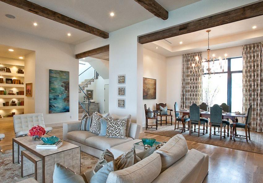 Стиль дизайна дома внутри и снаружи должен совпадать