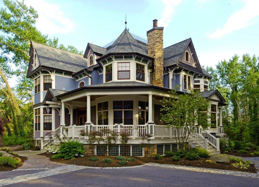 Викторианские строения довольно интересные, но достаточно необычные и сложные по своей конструкции