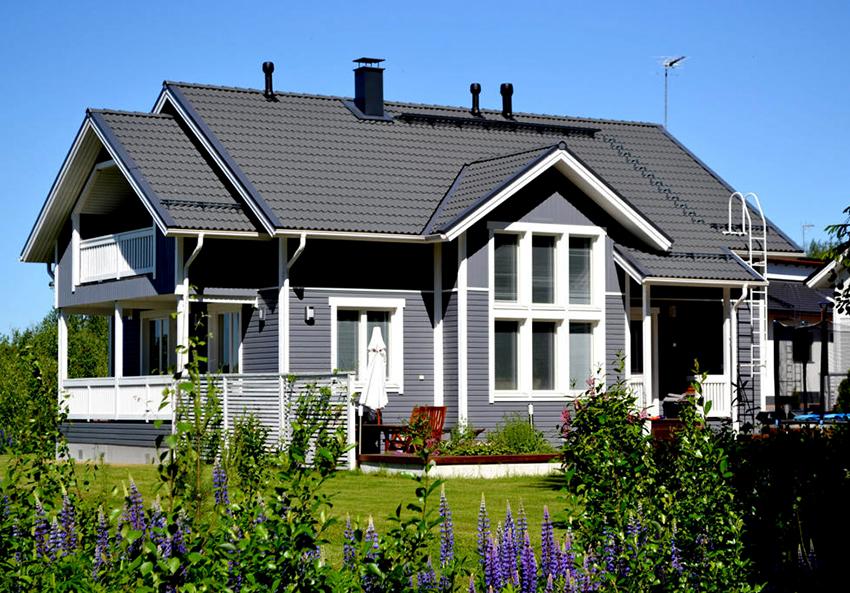 Проект дома в скандинавском стиле должен быть нацелен на экономию энергозатрат