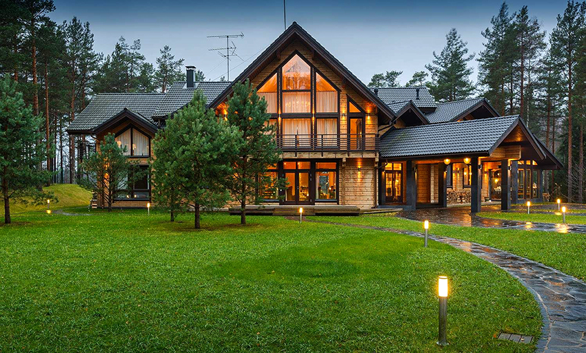 Владельцы скандинавских домов отмечают их комфортабельность и прочность