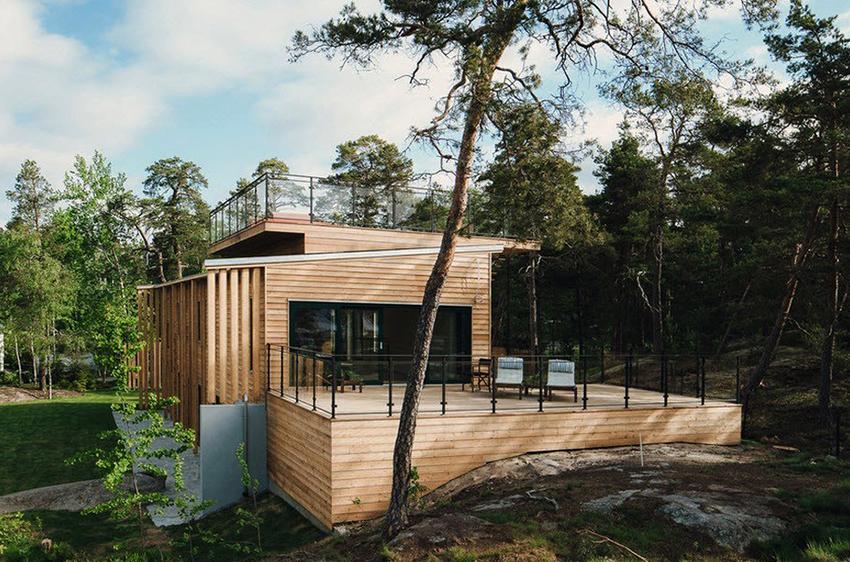 Строители считают – для того, чтобы скандинавский дом служил долго не стоит экономить на материалах