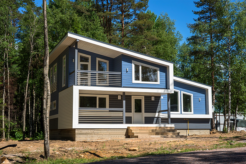 Дом в скандинавском стиле должен быть максимально функциональным