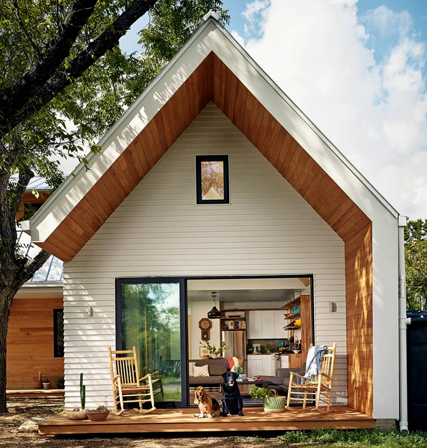 Преимущественно для строительства скандинавских домов используют сосну