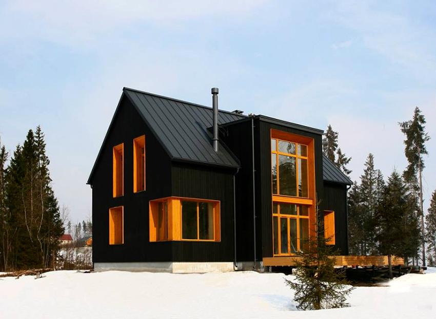 Скандинавские дома отличаются прочностью и отлично сохраняют тепло