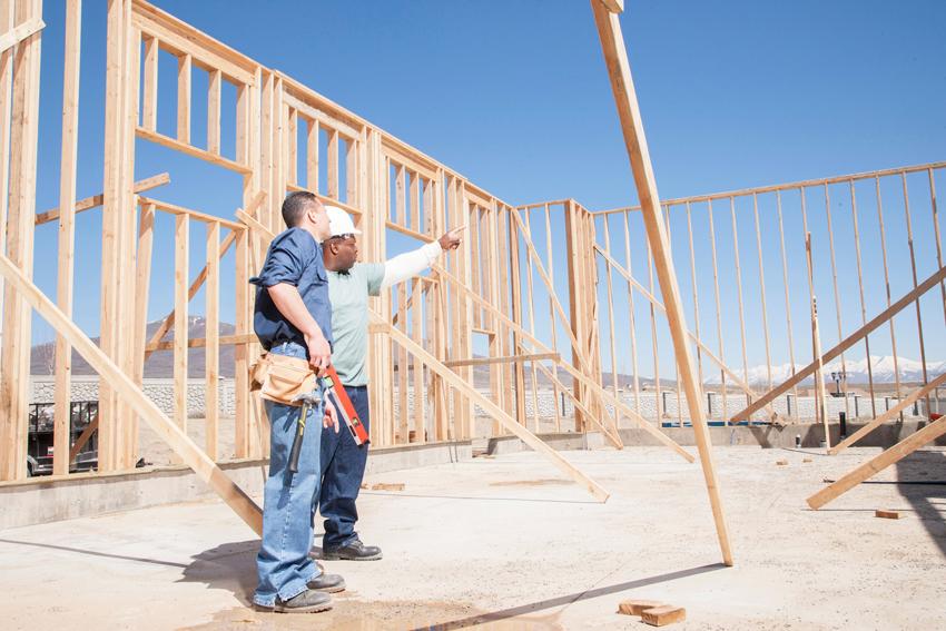 Наиболее простым методом строительства такого дома является каркасный способ