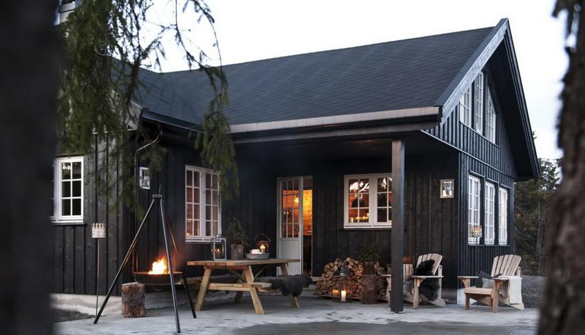 Дома в стиле прованс могут быть разных размеров, с количеством этажей не более 3