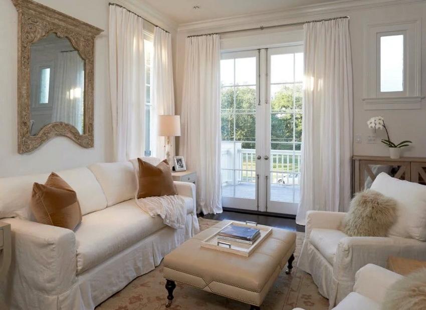 Мебель для интерьера в стиле прованс должна иметь плавные мягкие формы