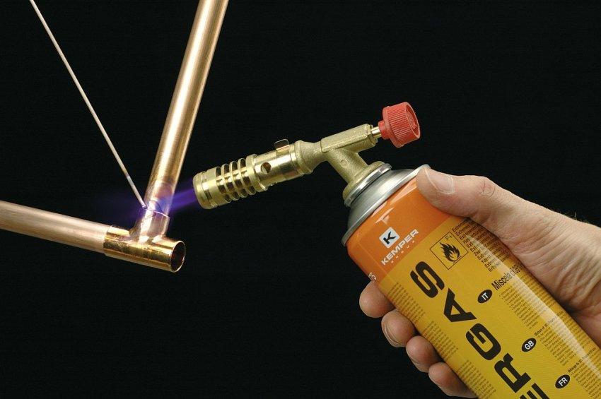 Газовые горелки чаще всего используются для обработки цветных металлов