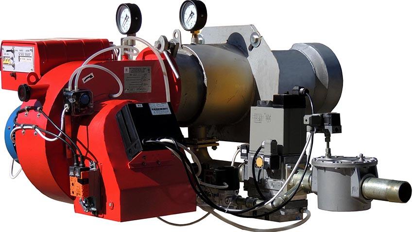 Горелки на отработке по типу бывают на жидком топливе, газовые и комбинированные