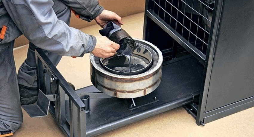 Котел на отработанном масле: надежный и бюджетный вариант отопления помещения
