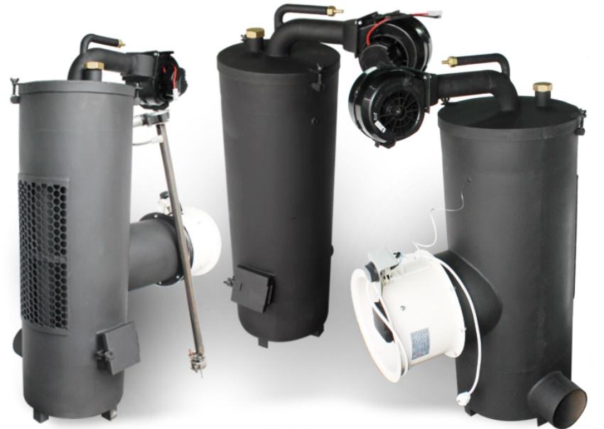 Котел на отработке Ecoboil-30/36 может использоваться для обогрева помещения площадью до 300 кв. м