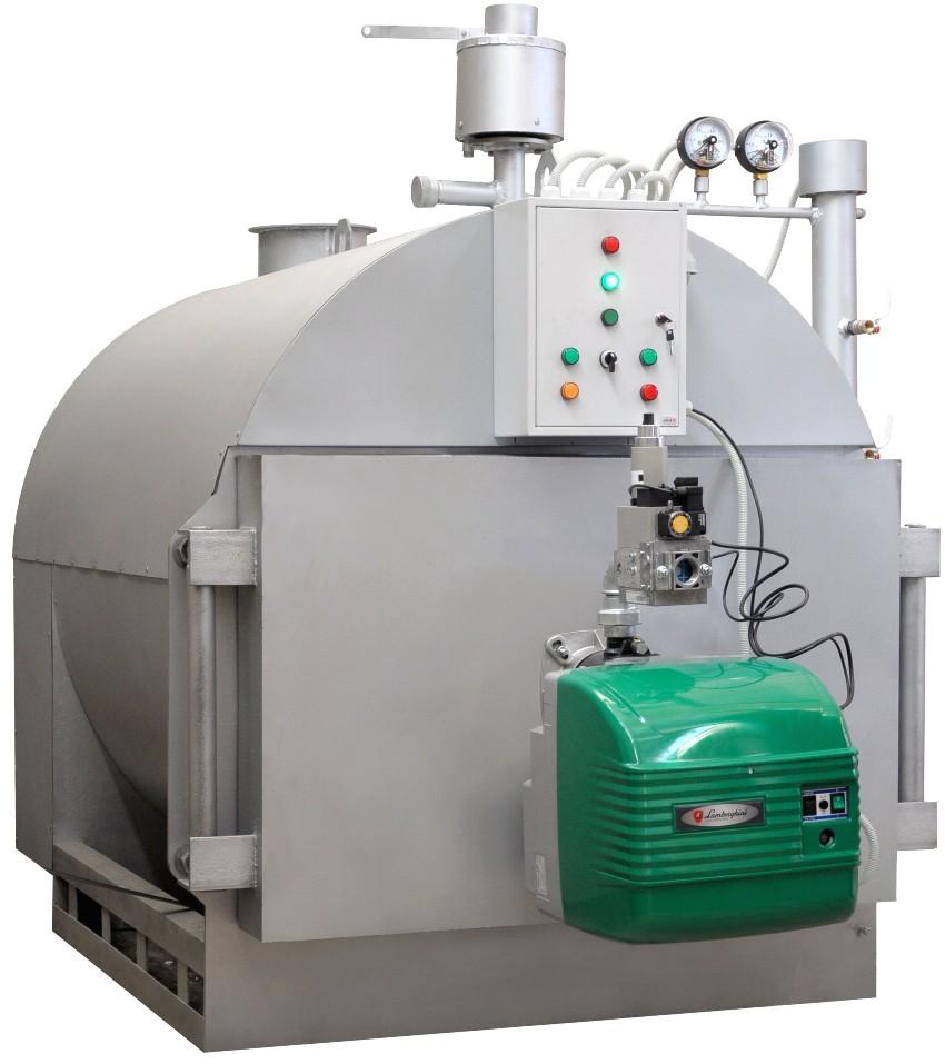 Существует три варианта котлов на отработанном масле: водонагревательный, отопительный и бытовой