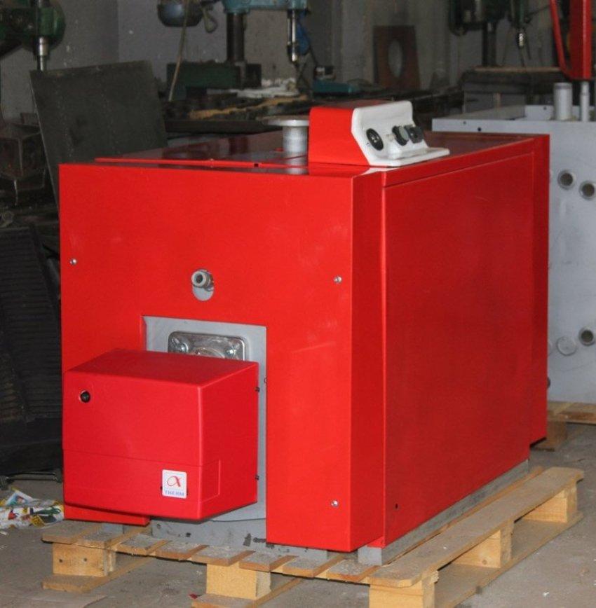 Двухконтурный котел Тепламос НТ 100 может использоваться не только для отопления, но и для обеспечения в доме горячего водоснабжения