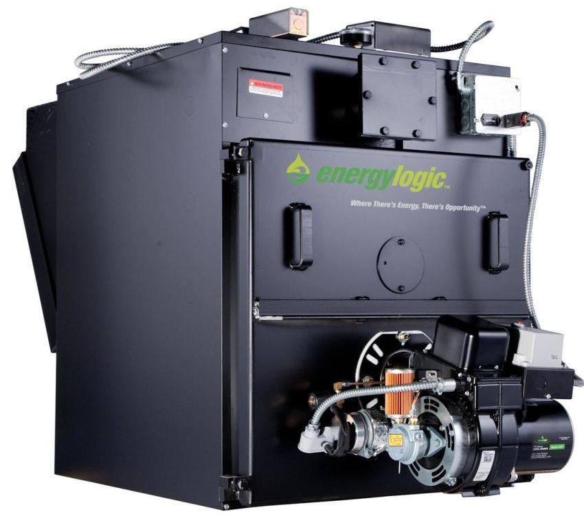 Теплообменник котла Energylogic работает на влажном эффекте, охлаждая воду