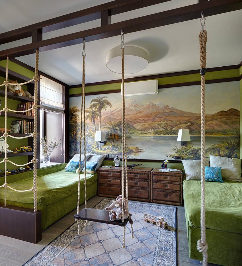 Кровать должна идеально сочетаться с общим дизайном спальни
