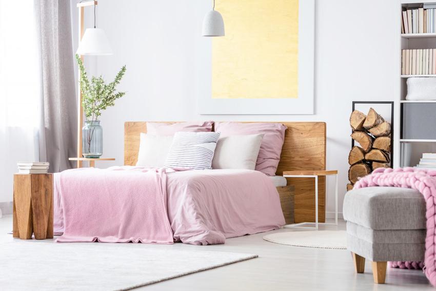 Размеры двуспальных кроватей обычно колеблются от 140 до 160 см в ширину
